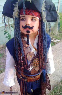 DIY boy Jack Sparrow costume