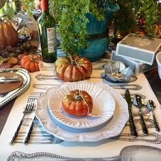 Our table is set and the turkey is roasting. Family is joining from all around to share this day in #thanks. Happy Thanksgiving from our home to yours! #OutsideInspirations #Thanksgiving