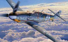 Bf 109G-6 'Yellow 1' by Shigeo Koike