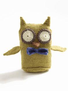 Free Knitting Pattern - Amigurumi: Wise Owl Toy Amigurumi