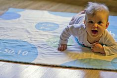 Customized Play Mat using Spoonflower.