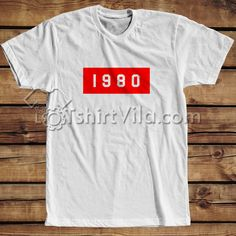 1980 T Shirt Adult Unisex - Tshirt Adult Unisex Size S-3XL     Tag a friend who would love this!     FREE Shipping Worldwide     Buy one here---> https://tshirtvila.com/product/1980-t-shirt-adult-unisex-tshirt-adult-unisex