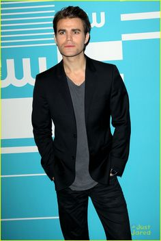 Paul Wesley at CW Network's 2015 Upfron