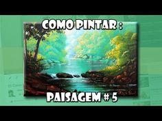 Como Pintar: Paisagem #5 ( Passo a Passo ) - YouTube