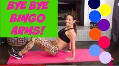 Bye Bye Bingo Arms! Tricep Exercises VIDEO via @nataliejillfit