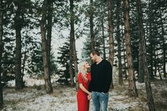 WITNEY + CARSON WINTER WONDERLAND ENGAGEMENTS © India Earl Photography | www.indiaearl.com