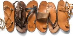 We're obsessed with Beek's gorgeous leather sandals in #Fanfair Apri 2015