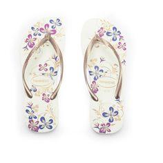 6c964c106e64cc Havaianas Women s Slim Season Flip Flops found on Polyvore Floral Print  Shoes