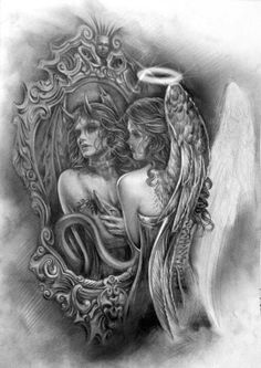 Angel and Devil…