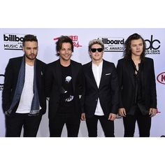 One Direction Slays the Billboard Music Awards 2015 Red Carpet found on Polyvore featuring one direction, 1d and harry