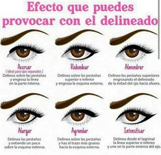 Efectos make up // Pestañas