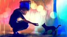 Dark Anime Scenery HD Desktop Background Wallpapers 2753 - HD ...