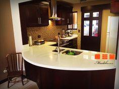 37 best muebles de cocina con desayunador images on pinterest mueble de cocina con desayunador personalizado de cuarzo altavistaventures Image collections