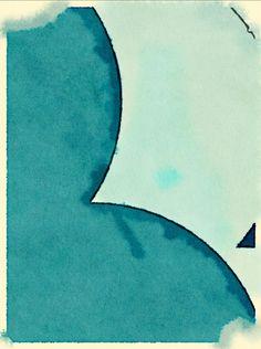 Kipper Trip Maund, 2014. Abstract art sketch created using Deko and Waterlogue iPad apps.