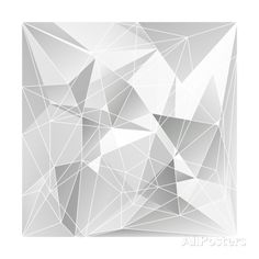 Abstract Triangle Background Posters av epic44 hos AllPosters.no