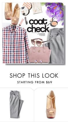 """""""Spring my way!"""" by wannanna ❤ liked on Polyvore featuring Lands' End, Christian Louboutin and Garance Doré"""