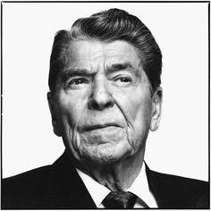 Ronald Reagan, former President of the United States, Los Angeles, April 1, 1993