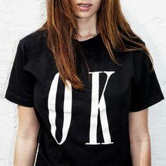 'OK' T-Shirt.Hier entdecken und shoppen: http://sturbock.me/xAq