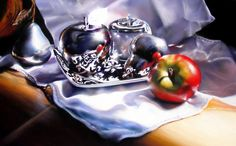 Intimidation - pastel painting by Roberta Combs