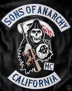 "Biker Vest - Fake MC for ""Sons of Anarchy"" TV show"