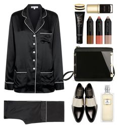 """""""Olivia von hallie"""" by thestyleartisan ❤ liked on Polyvore featuring Olivia von Halle, Givenchy, NARS Cosmetics, Dolce&Gabbana, Halcyon Days and TrickyTrend"""