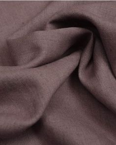 A medium weight pure linen fabric in a mauve shade. This natural fabric is perfect for light-feeling, breathable summer clothing Cheese Cloth, Viscose Fabric, Lining Fabric, Fabric Swatches, Fabric Weights, Mauve, Summer Outfits, Allium, Pure Products