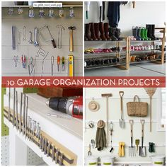 10 DIY garage organization projects