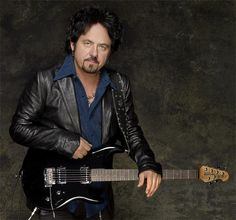 Steve Lukather (October 21, 1957) American guitarist, best known from the band Toto.