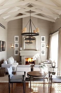 "Check Out 17 Narrow Living Room Ideas To Get Inspired. Do you have a narrow living room in your house and you are like ""Ugh, how am I supposed to put everything in here? Narrow Living Room, Home Living Room, Living Area, Living Spaces, Small Living, Cozy Living, Home Design, Interior Design, Design Ideas"