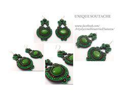 Gorgeous soutache earrings from Unique Soutache.