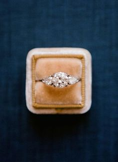 Engagement Ring, Ring Box, Romantic Wedding Inspiration, Wedding Planning Tips, Bride, Wedding Decorations, Wedding Decor, Wedding Ideas, Wedding Inspiration - Charming Grace Events https://www.charminggraceevents.com/