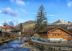 Dorf Appenzell