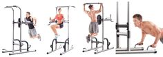 Check out what sorts of exercises you can do with a power tower and get a workout routine as well.