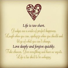 Monday Motivation: A Lesson Learned from Scrappin' Boys – The Joys of Boys Best Quotes Life Cute Quotes, Great Quotes, Inspirational Quotes, Life Is Too Short Quotes, Life Is Short, Grudge Quotes, Holding Grudges Quotes, Forgiveness Quotes, Lessons Learned