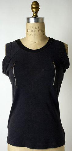 Attributed to Vivienne Westwood , T-shirt, ca. 1971 (New York: Metropolitan Museum of Art, 1997.59.18)