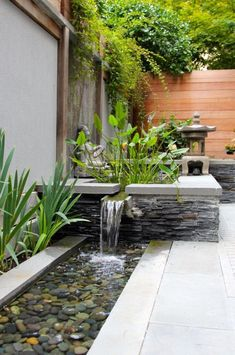Astonishing Feng Shui Indoor Water Fountain Decorating Ideas Gallery in Patio As., water fountains ideas Astonishing Feng Shui Indoor Water Fountain Decorating Ideas Gallery in Patio As. Backyard Garden Landscape, Backyard Pool Landscaping, Ponds Backyard, Garden Pond, Landscaping Ideas, Backyard Plants, Garden Plants, Diy Water Feature, Backyard Water Feature