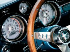 1967 Ford Mustang Fastback Gauges