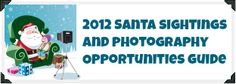 2012 Atlanta area Santas and Santa photos for kids