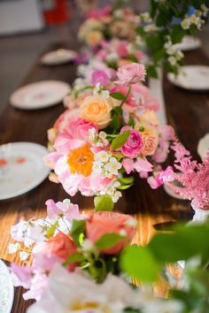 Pretty Pink Wedding   Selah Photography   Bridal Musings Wedding Blog