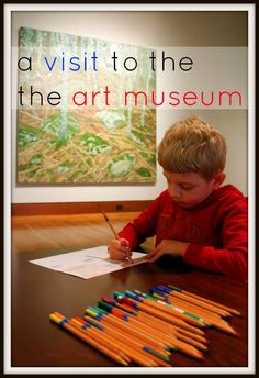 Tips for Visiting an Art Museum with Kids from Child Inner fun. Buy a few postcards of displayed work and then scan the exhibits to find the items. Great for scanning practice for autism. Museum Education, Art Education, Art Curriculum, Learn Art, Preschool Art, Art Classroom, Teaching Art, T 4, Fun Learning