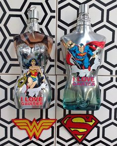 Fusión de perfume y superpoder iniciada! Jean Paul Gaultier Classique y Le Mâle se fusionan en las nuevas eaux fraîches de 2017. Wonder woman y Superman listos para un verano wonderful! @jpgaultierofficial #ilovegaultier #eaufraiche #classique  via ELLE SPAIN MAGAZINE OFFICIAL INSTAGRAM - Fashion Campaigns  Haute Couture  Advertising  Editorial Photography  Magazine Cover Designs  Supermodels  Runway Models