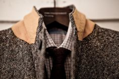 The wool jacket