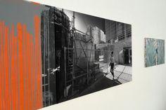 GUBO Nr. 035_1 und Sophia Schama in der Ausstellung SOMMER 15