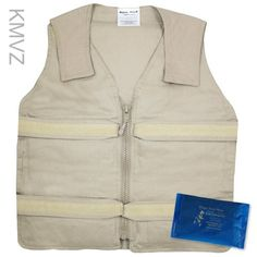 Cooling Vests Body Cooling With Adjustable Velcro Straps-...
