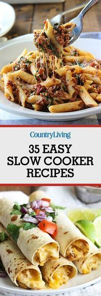 Easy Slow Cooker Recipes for Busy Nights - Best Crock Pot Recipes Crock Pot Food, Crockpot Dishes, Crock Pot Slow Cooker, Crock Pots, Best Crockpot Meals, Crockpot Ideas, Fast Crock Pot Recipes, Wok Recipes, Slow Cooker Freezer Meals