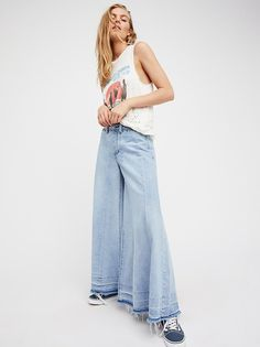 Run Through The Moss Wide Leg Jeans from Free People!