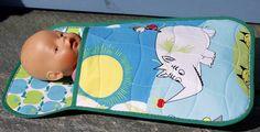 Sleepingbag for the doll! Good birthday present for little girlies!
