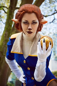 Captain Amelia from Treasure Planet Cosplay by Dezi Desire