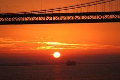 Bay Bridge Sunrise Thomas Hawk
