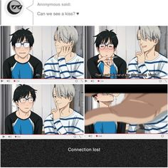 THIS GIVES ME LIFE / bl / victuri / Yuri x Viktor / Tumblr / Original Source: http://seek-victory.tumblr.com Saw on instagram: @maru_fujoshi